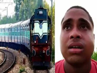 Mother! You scolded me a lot for 100 rupees', son jumped in front of the train made video