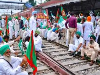 Due to the agitation of farmers, trains became 'rail' in Punjab-Haryana, thousands of passengers upset